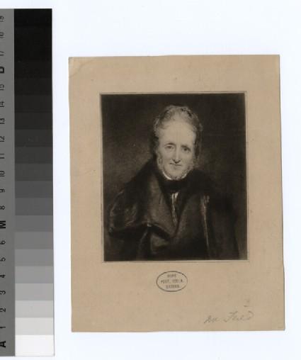 Portrait of Mr Field