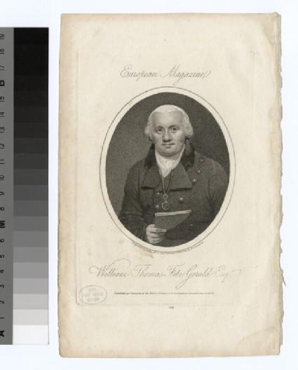 Portrait of W. T. Fitzgerald
