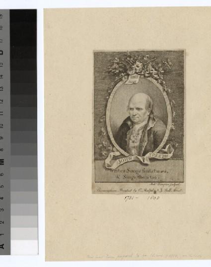 Portrait of J. Freeth (1731-1808)