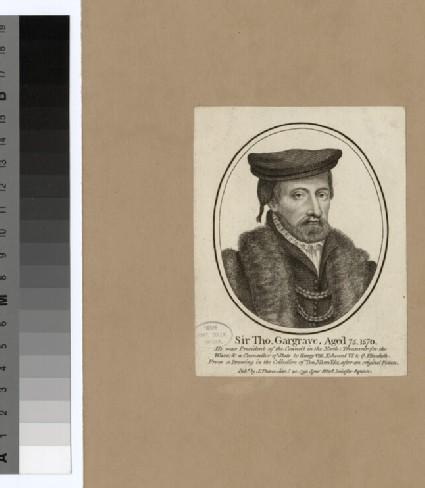 Portrait of M. Garland