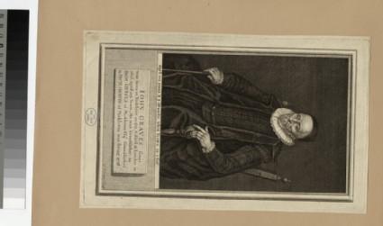 Portrait of J. Graves