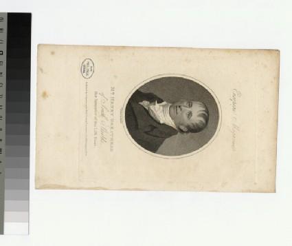 Portrait of H. Greathead