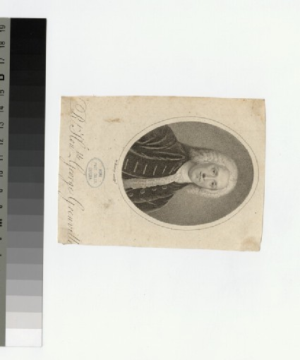 Portrait of G. Grenville