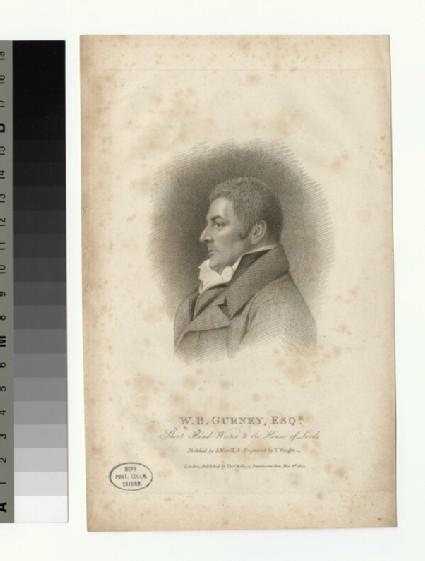 Portrait of W. B. Gurney
