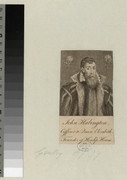 Portrait of John Habington