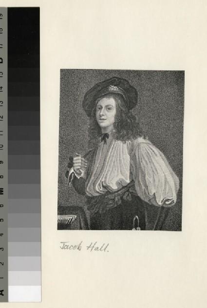 Portrait of J. Hall