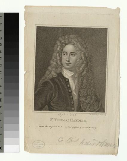 Portrait of T. Hanmer