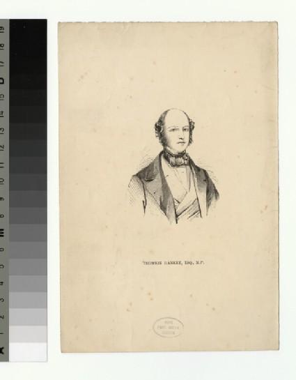 Portrait of T. Hankey