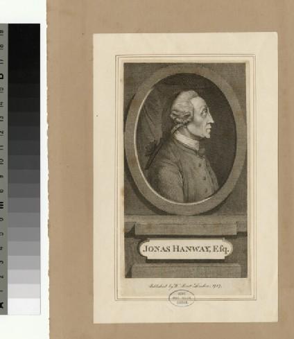 Portrait of J. Hanway