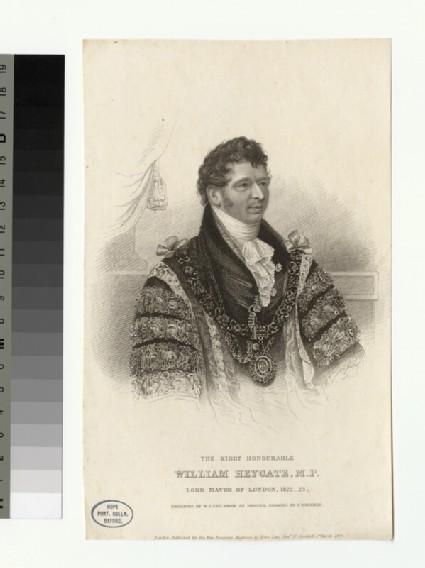 Portrait of W. Heygate