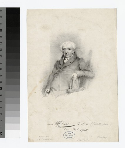 Portrait of John Holmes