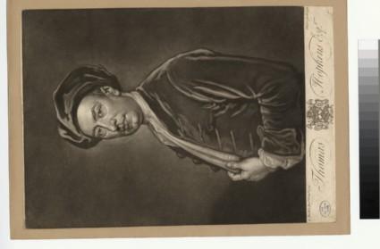 Portrait of T. Hopkins