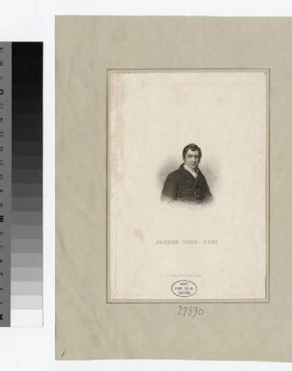 Portrait of J. Hume