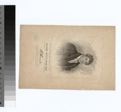 Portrait of H. Hunt
