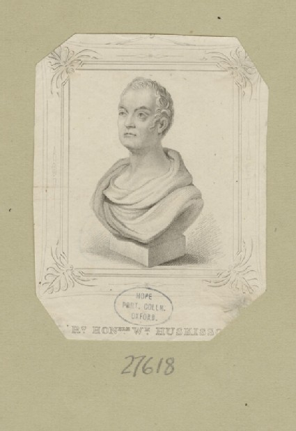 Portrait of W. Huskisson