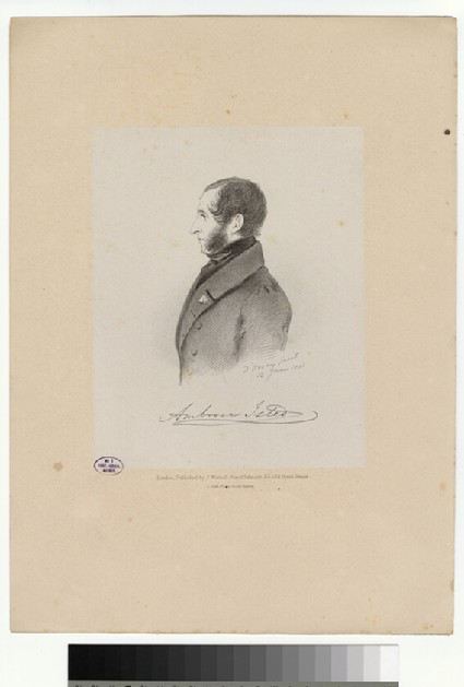 Portrait of A. Isted