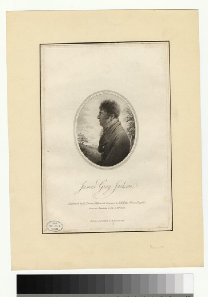 Portrait of J. G. Jackson
