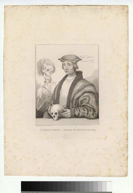Portrait of R. Jannys