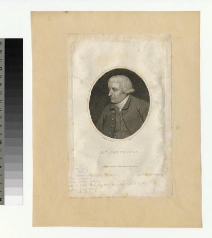 Portrait of Mr Jefferson