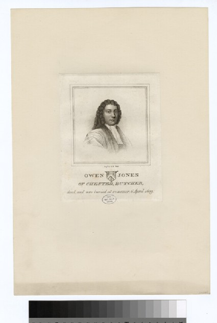 Portrait of O. Jones