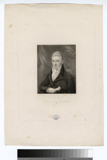 Portrait of J. Jortin