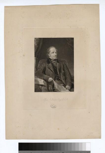 Portrait of A. F. Kempe
