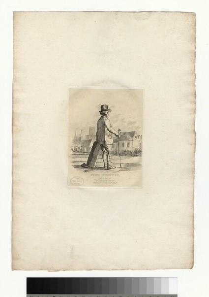 Portrait of J. Kempton