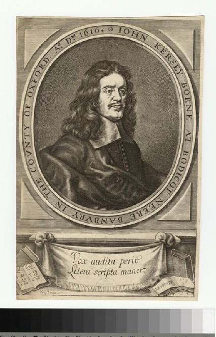 Portrait of J. Kersey