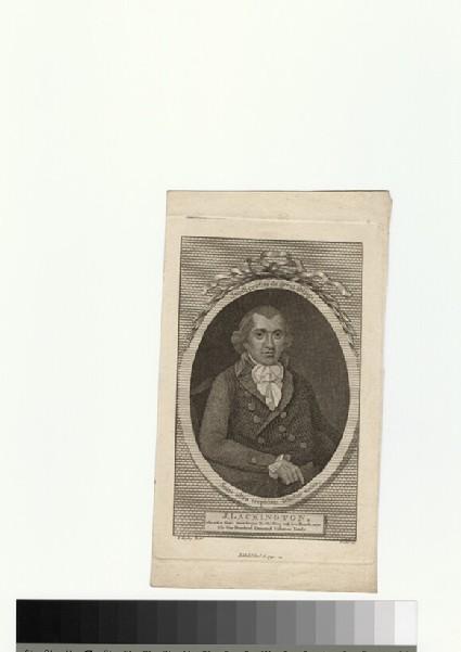 Portrait of J. Lackington