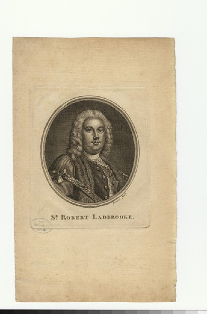 Portrait of R. Ladbrooke