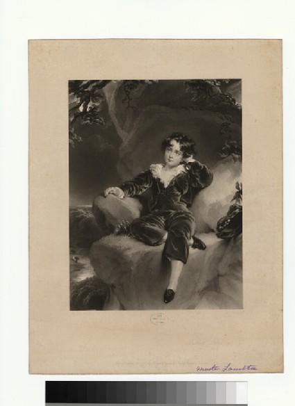 Portrait of Master Lambton