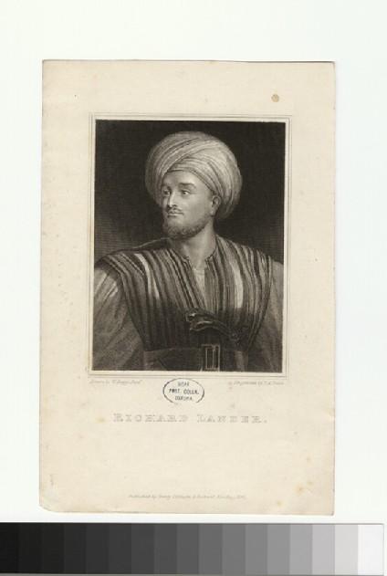 Portrait of R. Lander
