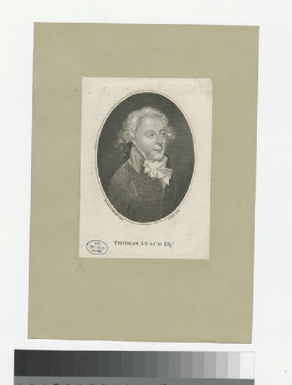 Portrait of T. Leach
