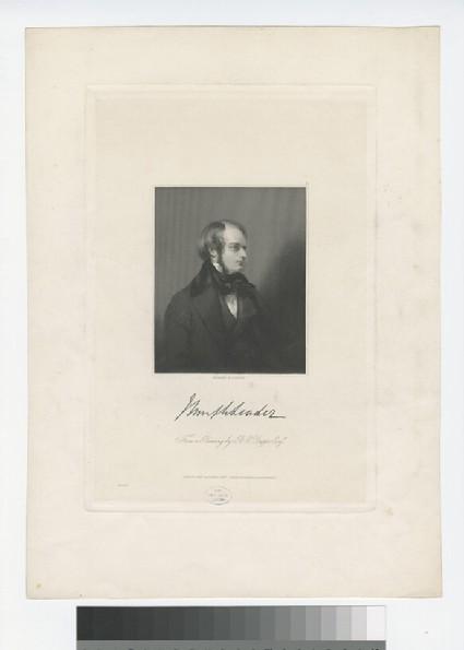 Portrait of J. Leader