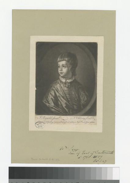 Portrait of W. Legge