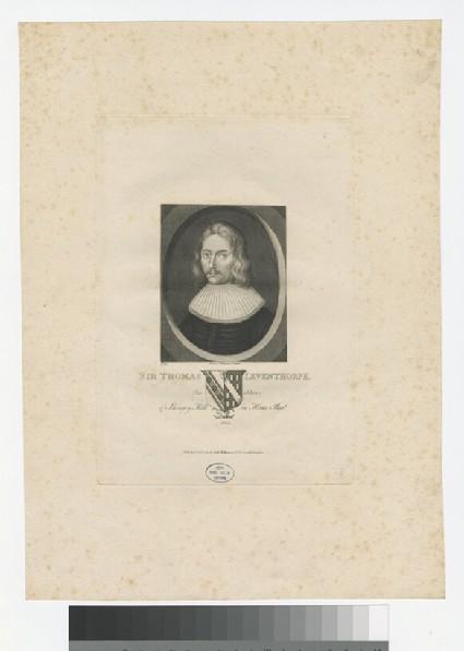 Portrait of T. Leventhorpe