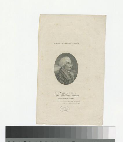 Portrait of W. Lewes