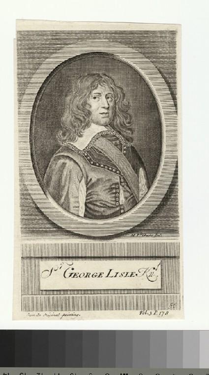 Portrait of G. Lisle