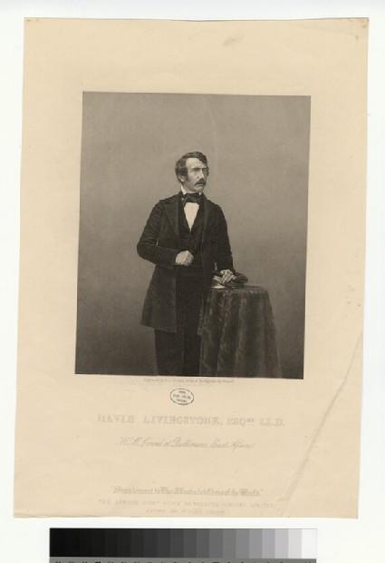 Portrait of David Livingstone