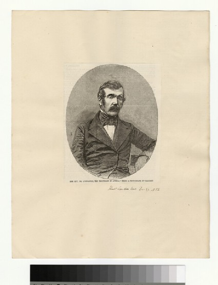 Portrait of Dr Livingstone