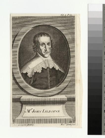 Portrait of J. Lilburne