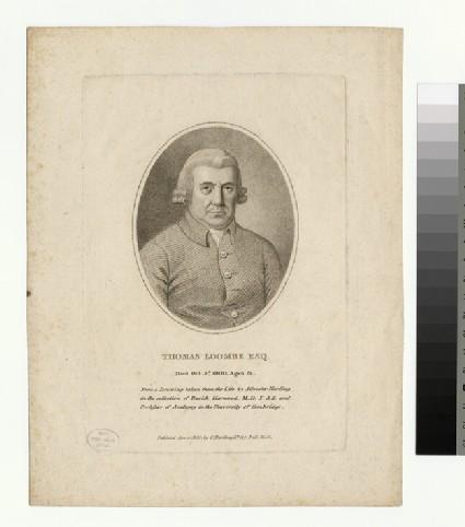 Portrait of Thomas Loombe