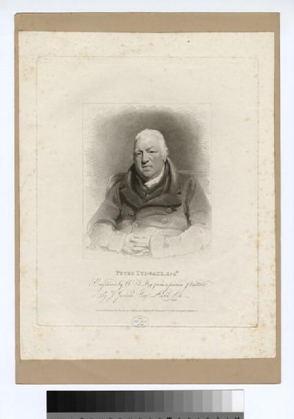 Portrait of P. Ludgate