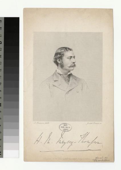 Portrait of H. M. Meysey-Thompson