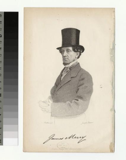 Portrait of J. Merry