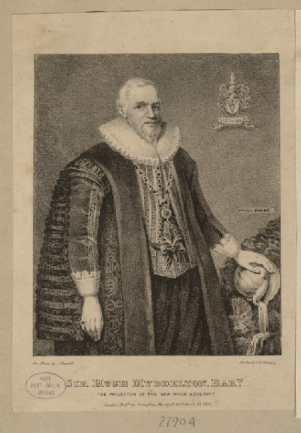 Portrait of H. Myddelton