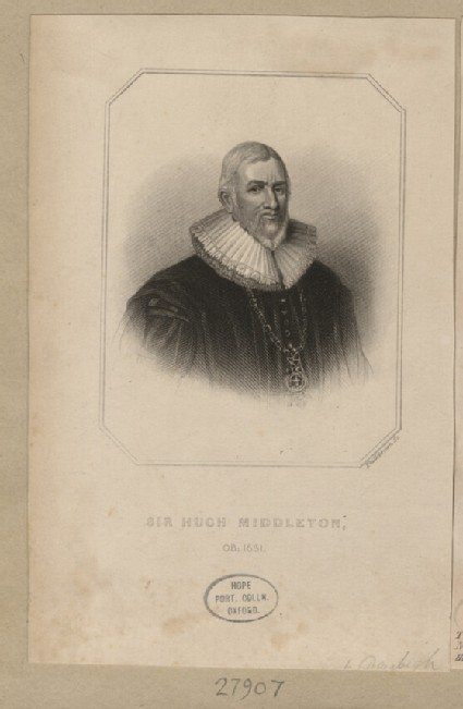 Portrait of H. Middleton