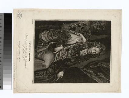 Portrait of J. Moor