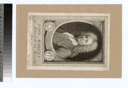 Portrait of J. Morley