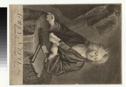 Portrait of G. Nevil